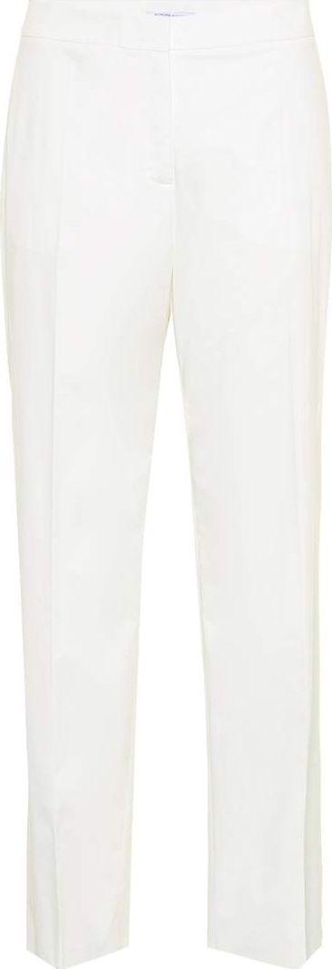 Agnona Cotton and cashmere trousers