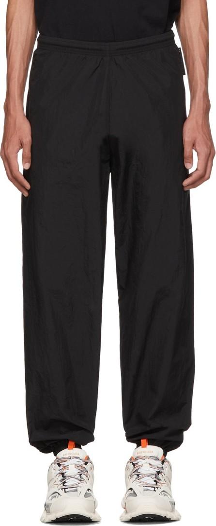 Balenciaga Black Taffeta Lounge Pants