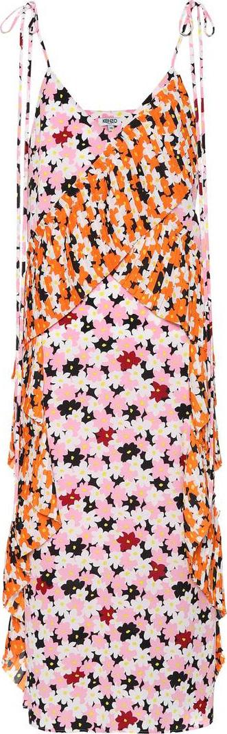 KENZO Jackie Flowers midi dress