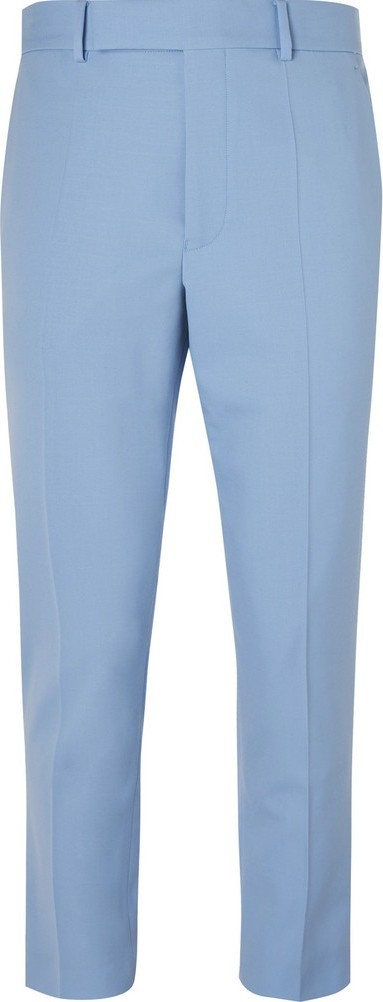 Haider Ackermann Slim-Fit Tapered Stretch-Wool Trousers