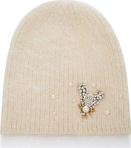 504ffe9d25440 Jennifer Behr Bea Embellished Angora Wool And Alpaca-Blend Beanie