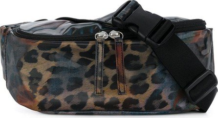 Doublet Leopard print belt bag