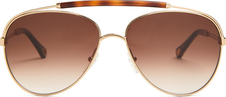 Chloe Reece aviator-frame sunglasses
