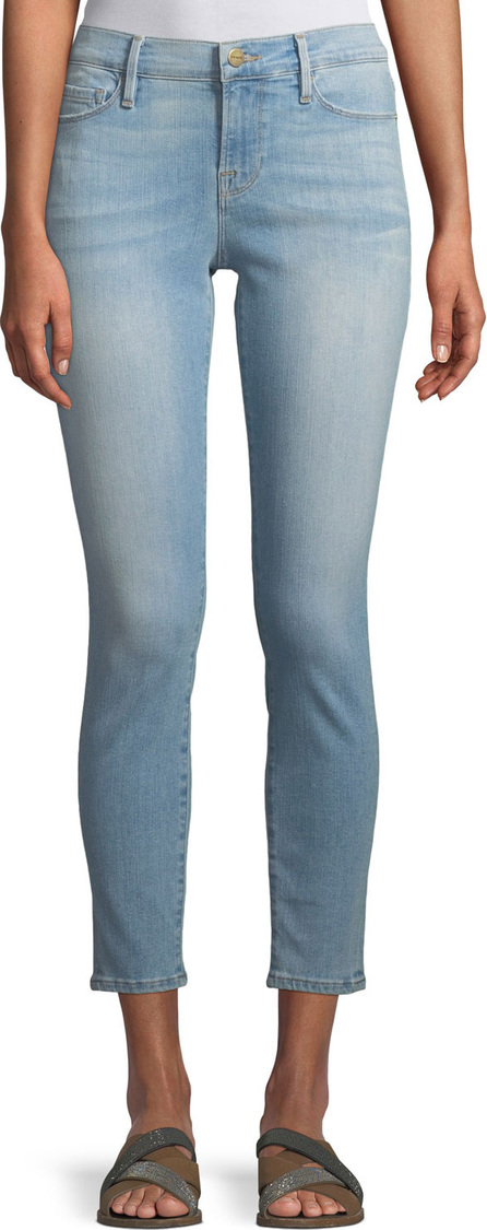 FRAME DENIM Le Skinny Cropped Low-Rise Jeans, Southall