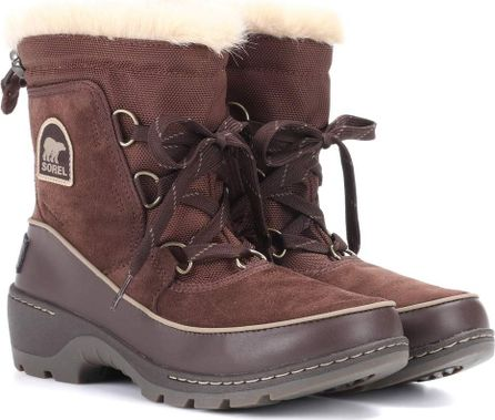 Sorel Torino leather and suede snow boots