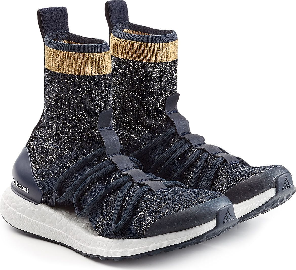 adidas by stella mccartney ultra boost x mid sneakers mkt. Black Bedroom Furniture Sets. Home Design Ideas