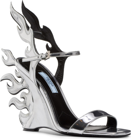 Prada Flame Sandal