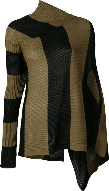 Marques'Almeida Asymmetric striped jumper