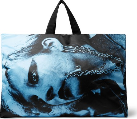 Raf Simons + Eastpak Printed Shell and Cotton-Canvas Holdall