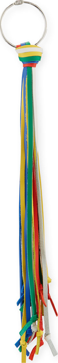 LOEWE Multicolor Tassel Charm for Handbag