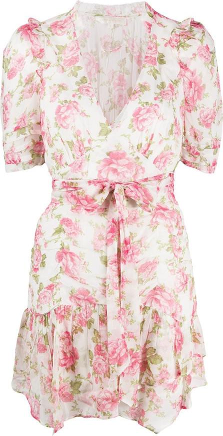 LOVESHACKFANCY Arlo tie-waist mini dress