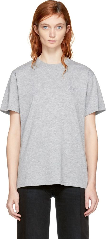 032c Grey Crystal Logo T-Shirt