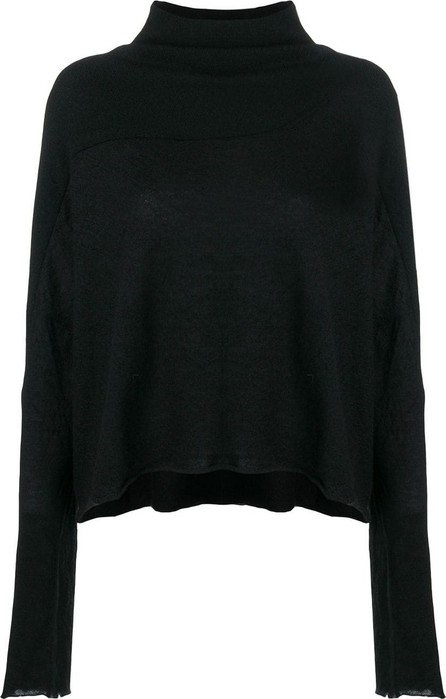 Ben Taverniti Unravel Project Funnel-neck long sleeve sweater