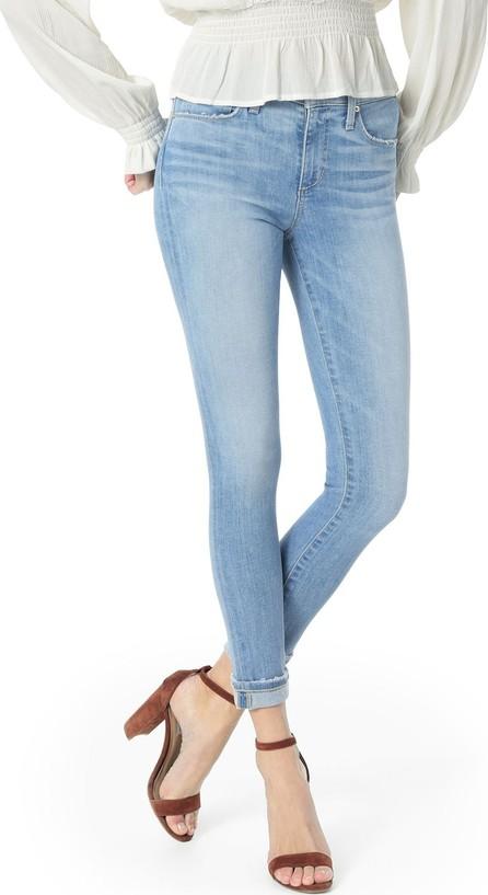 Joe's Jeans The Icon Crop Cuffed Skinny-Leg Jeans