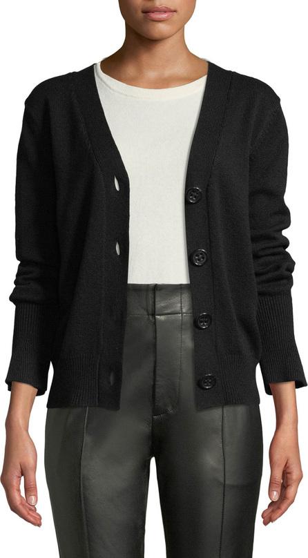 Agnona V-Neck Button-Front Cashmere Cardigan