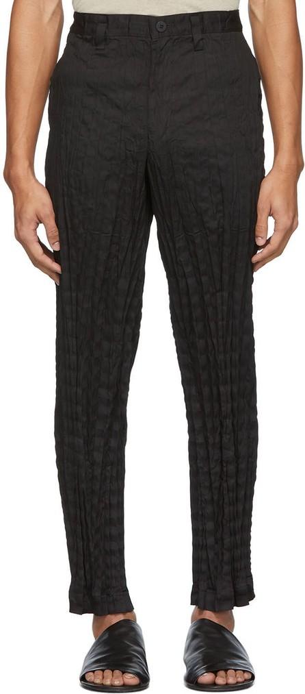 Issey Miyake Men Black Torus Trousers