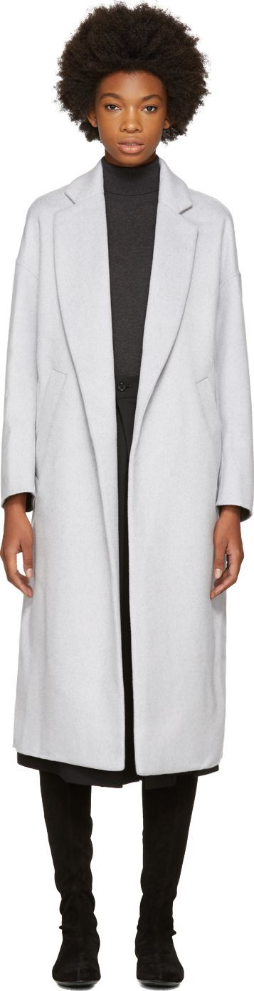 Enfold Grey Chester Coat