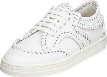 Alaïa Whipstitched Platform Sneakers