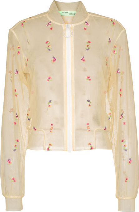 Off White X Browns Capsule Floral Bomber Jacket