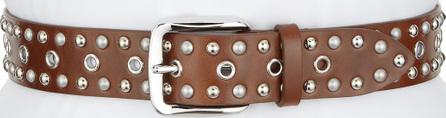 Isabel Marant Etoile Rica Studded Leather Belt