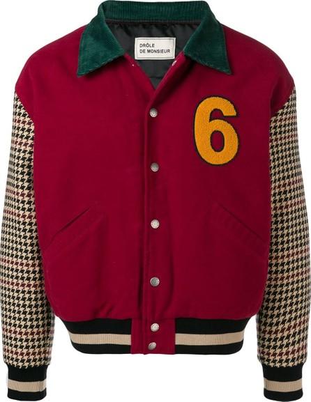 Drôle De Monsieur Moleskin DDM Varsity jacket