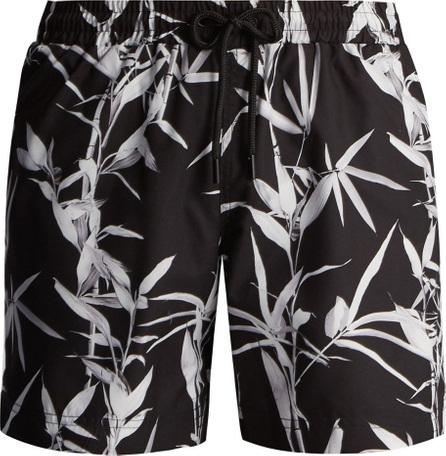 Commas Bamboo-print swim shorts