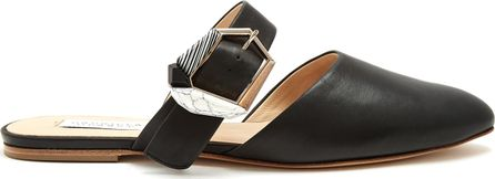 Gabriela Hearst Savage pointed-toe leather loafer