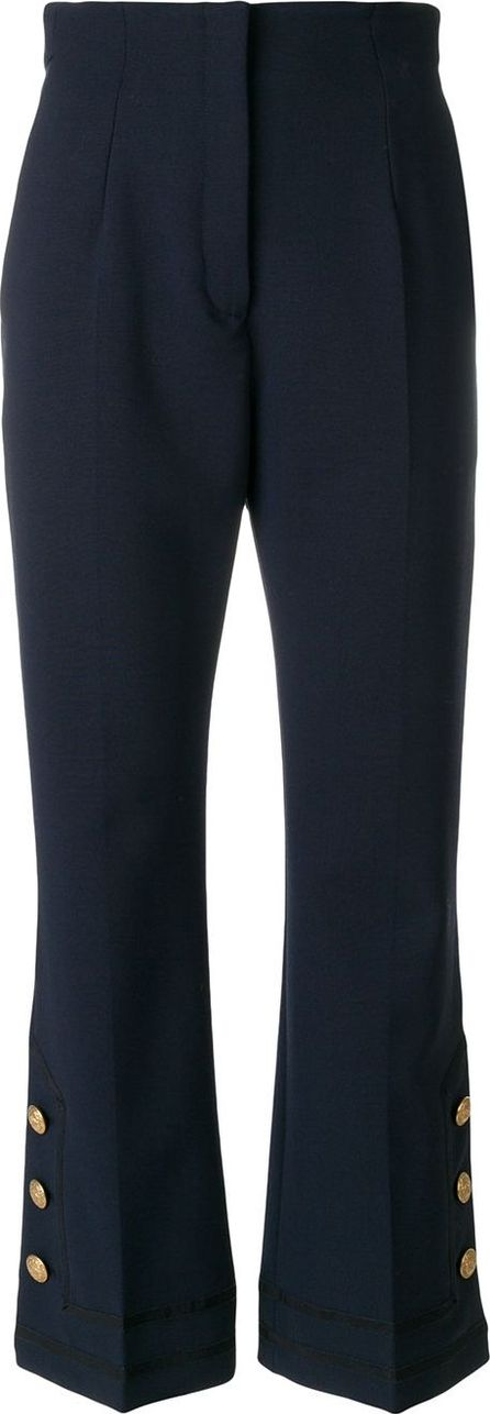 Alberta Ferretti sailor style cropped trousers