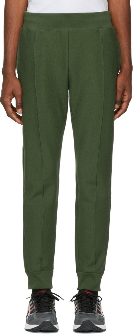Champion Reverse Weave Green Cuffed Jogger Pants