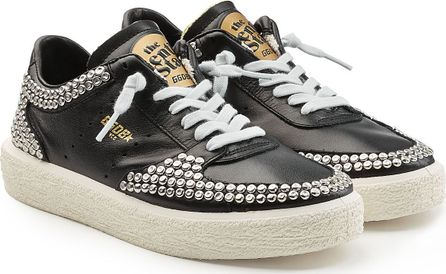 Golden Goose Deluxe Brand Tenth Star Embellished Leather Sneakers