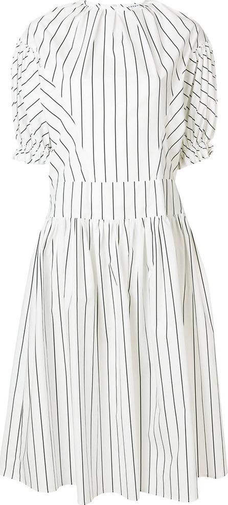 Arthur Arbesser Striped puff sleeve dress