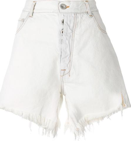 Ben Taverniti Unravel Project Denim frayed shorts