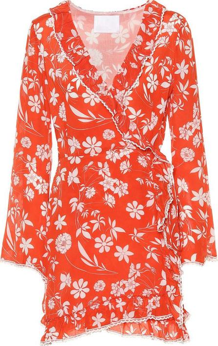 Athena Procopiou Farah silk minidress
