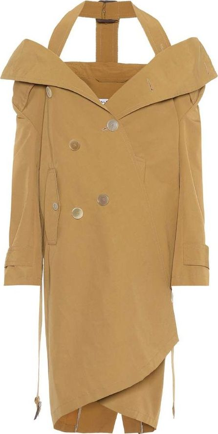 Balenciaga Cotton-blend trench coat