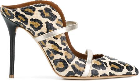 Malone Souliers Maureen leopard mules