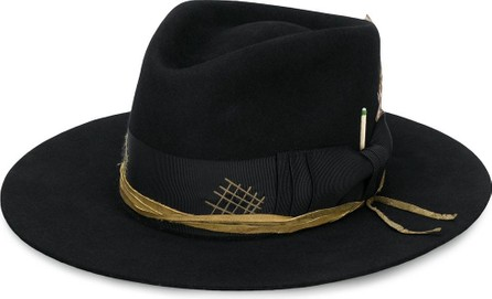 Nick Fouquet Raven fedora hat