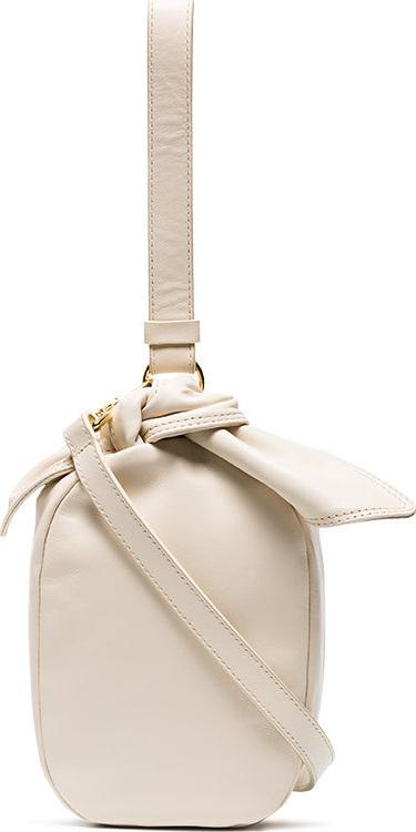 Simone Rocha Bow pouch leather bag