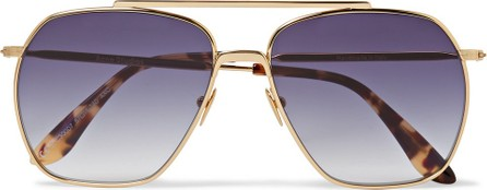 Acne Studios Anteom Aviator-Style Gold-Tone and Tortoiseshell Acetate Sunglasses