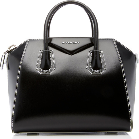 Givenchy Antigona Small Polished Leather Tote