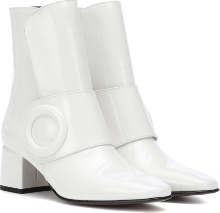 BOYY Yeuxlet High leather ankle boots