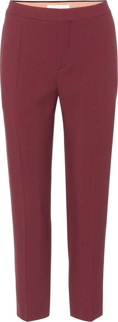 Chloe Slim-fit trousers