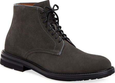 Aquatalia Men's Renzo Suede Lace-Up Boots
