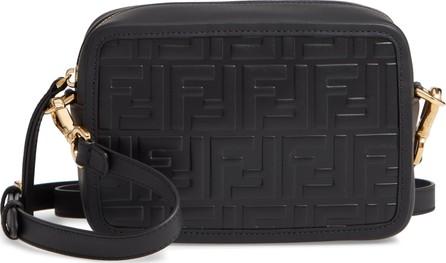 Fendi Mini Logo Embossed Calfskin Leather Camera Bag f782cd99d4348