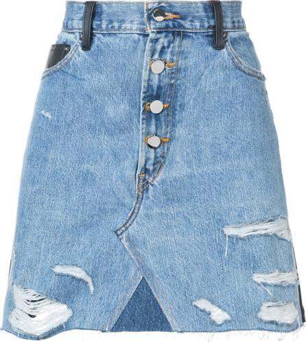 Amiri Contrasting skirt