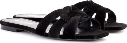Saint Laurent Nu Pieds 05 velvet slip-on sandals