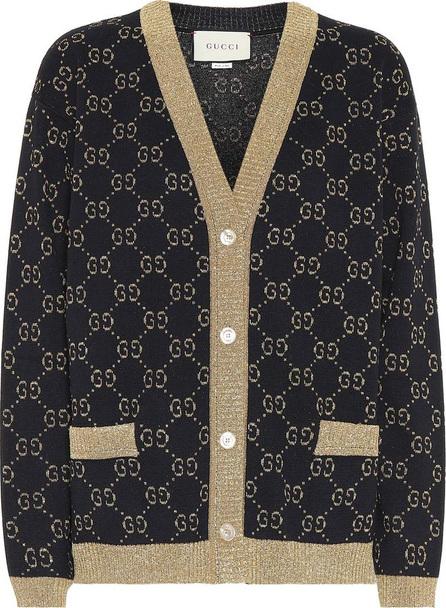 Gucci Cotton-blend logo cardigan