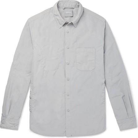 Aspesi Slim-Fit Garment-Dyed Shell Overshirt