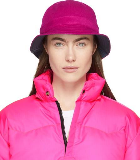 Bianca Chandon Pink Wool Bell Hat
