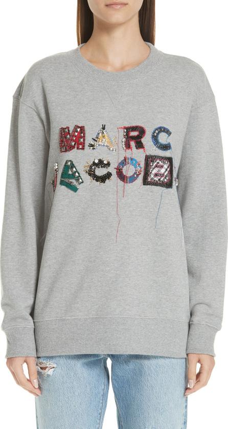 MARC JACOBS Logo Embellished Sweatshirt
