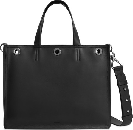 ALLSAINTS Captain East/West Medium Leather Tote Bag